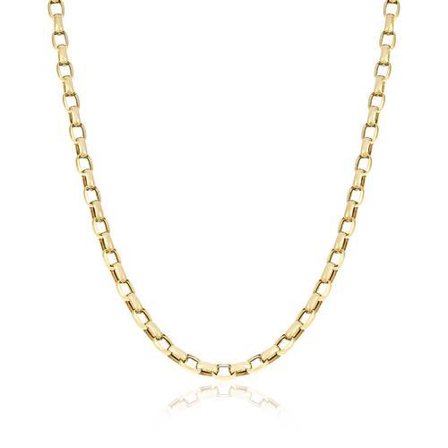 0c6cc05969f Corrente de Ouro Elos Cartier arredondados com 60 cm