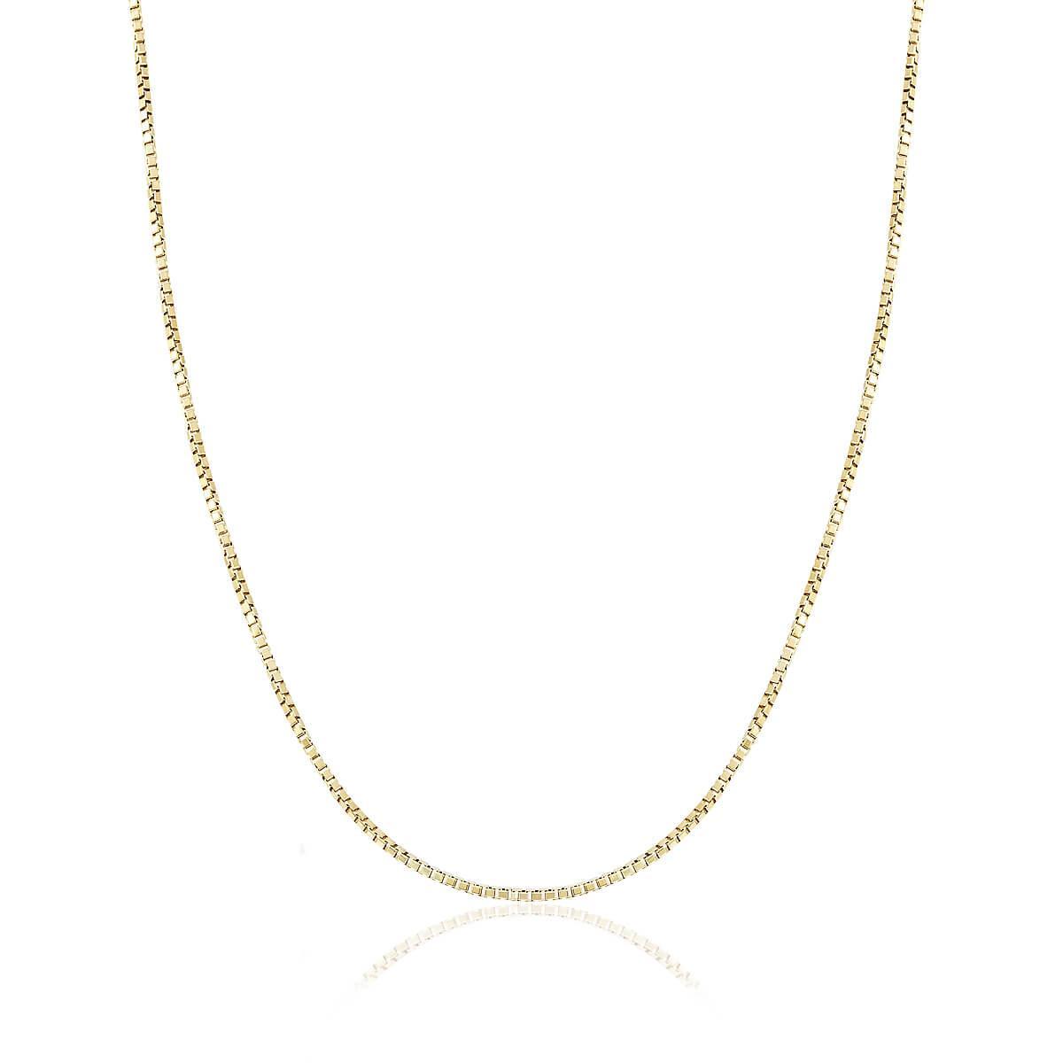 Corrente de Ouro Feminina Malha Veneziana, com 60 cm 4f61b109d0