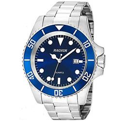 1ade02f6290 Relógio Masculino Magnum Analógico MA33068F Azul