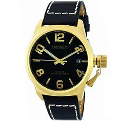 8748828b38a Relógio Masculino Magnum Analógico MA33433P Couro