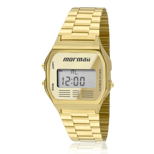 550e3df5634 Relógio Mormaii Vintage Digital MOJH02AB 4D Dourado