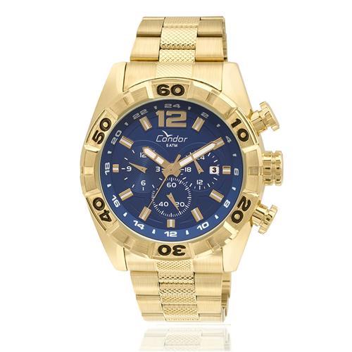 97bf327adf4 Relógio Masculino Condor Analógico COVD33AA 4A Dourado