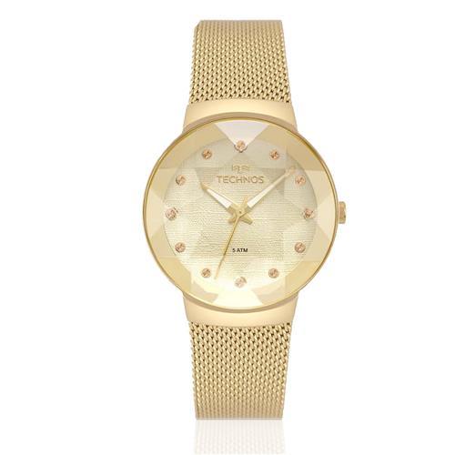 46f97e06859 Relógio Feminino Technos Analógico 2035MPW 4X Dourado