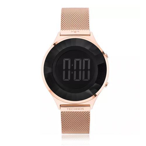 c7a5ea702da Relógio Feminino Technos Digital BJ3572AD 4P Rose