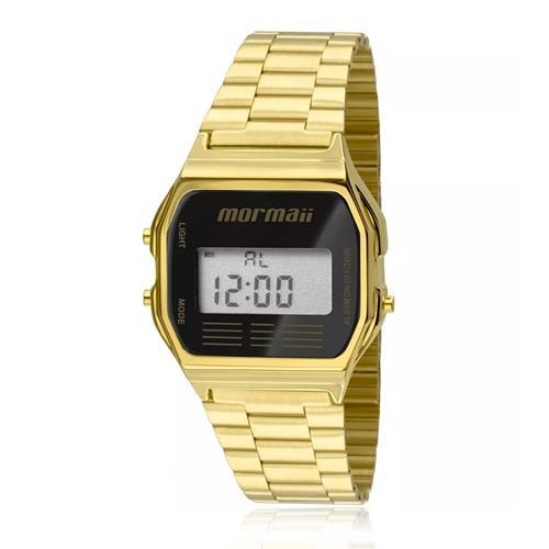 ee1d7bb4ead Relógio Mormaii Vintage Digital MOJH02AB 4P Dourado