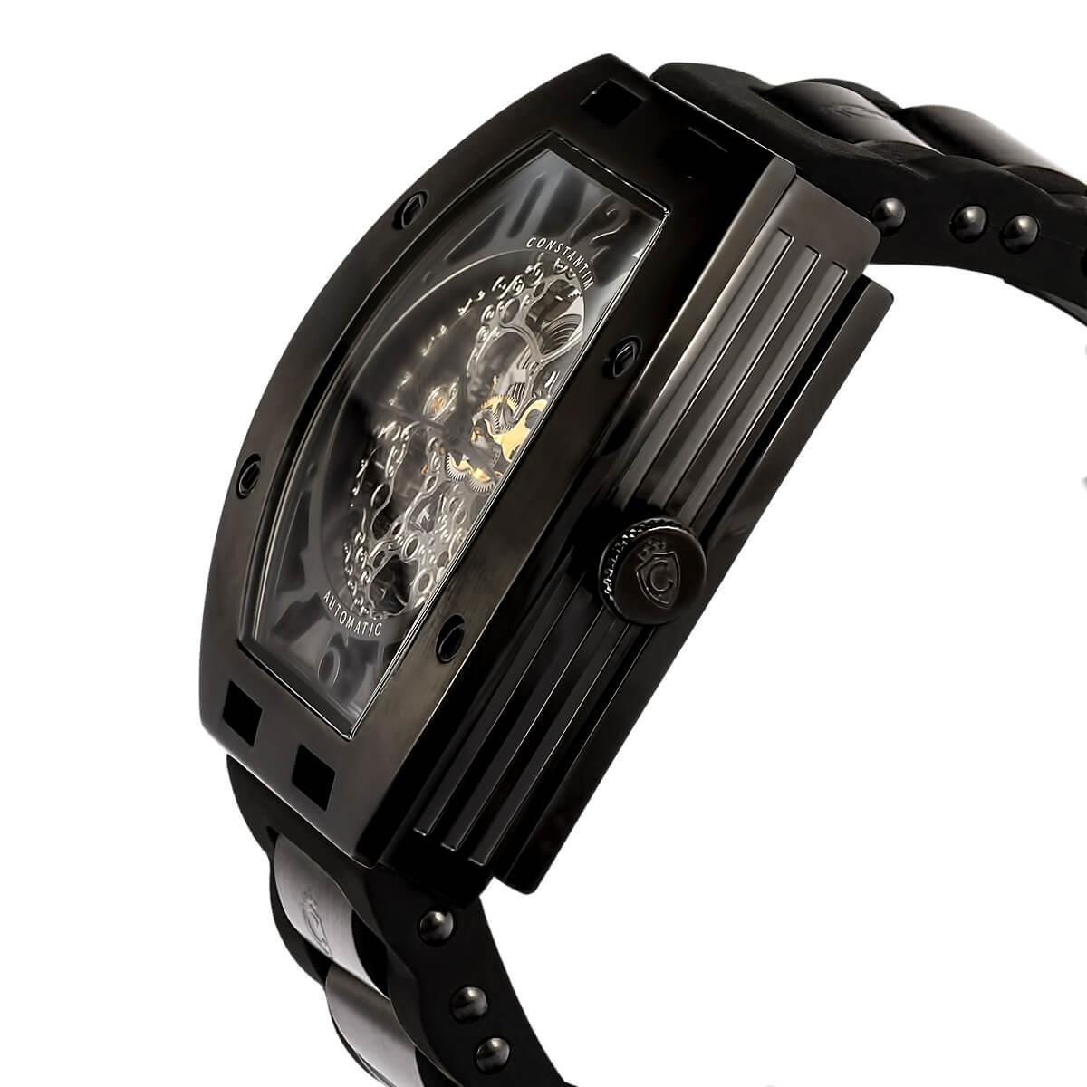 3b6d9c16f1b Relógio Masculino Constantim Full Skeleton ZW30303D Special Edition  Automatic All Black