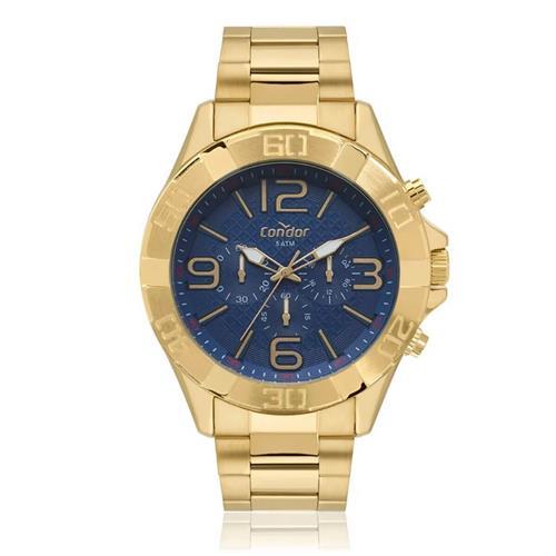 Relógio Masculino Condor Analógico COVD54BD 4A Dourado   Joias Vip 837f3b99c7