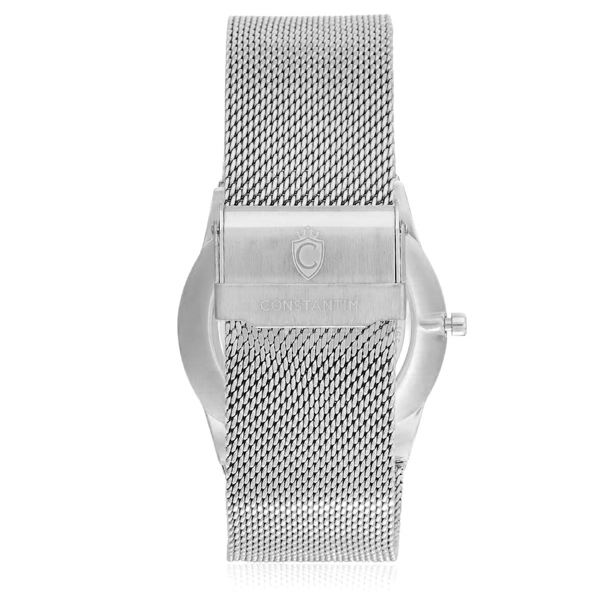 0c5fdec7c4d Relógio Masculino Constantim Odense Analógico ZW20010U-S Silver Black