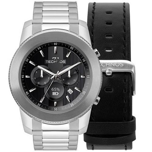 9315d5bebc7 Relógio Masculino Technos Connect Digital M1AA 1P Aço