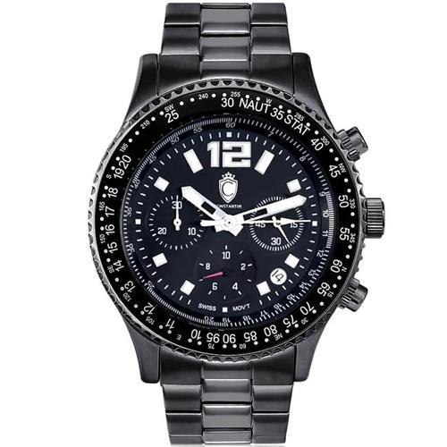 de51806c0b1 Relógio Masculino Constantim Navitimer Analógico CT-01 G0099E All Black