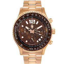 9f6464b9e5f Relógio Masculino Constantim Navitimer Analógico CT-01 G0099C Rose Brown