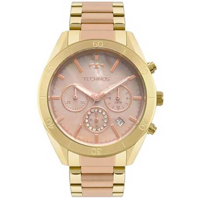 d44bb7e70cd Relógio Feminino Technos Ladies Analógico JS25BW 5M Misto