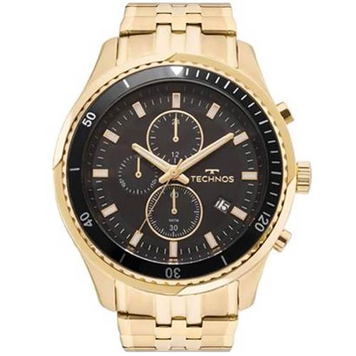 ae6b30a29ab Relógio Masculino Technos Analógico JS15FE 4P Dourado