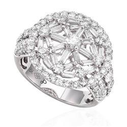 dd089774514 Anel com Diamantes totalizando 2