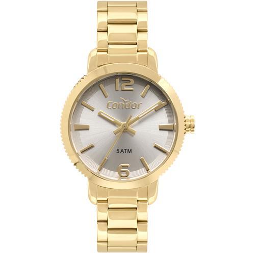 Relógio Feminino Condor Analógico CO2035EZN K4K Dourado   Joias Vip bdb3ccda01