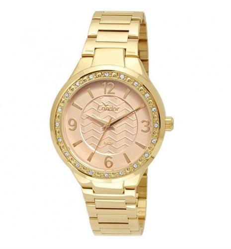 Relógio Feminino Condor Analógico CO2035KTH 4X Dourado   Joias ... c87cbcb1b0