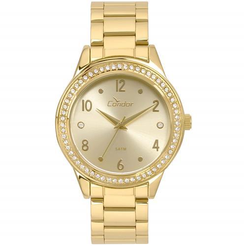 Relógio Feminino Condor Analógico CO2036KUI K4D Dourado   Joias Vip a2b6755c78