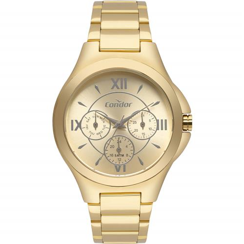Relógio Feminino Condor Analógico CO6P29IU K4D Dourado   Joias Vip c30f227fe5