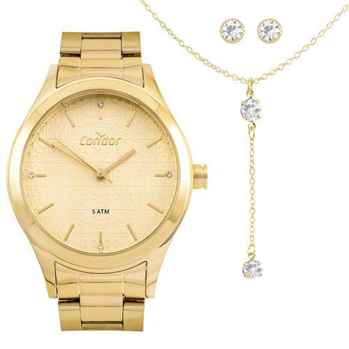 21696c35eee Relógio Feminino Condor Analógico COAL2035FDW K4X Dourado