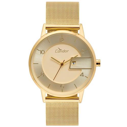 Relógio Feminino Condor Analógico COGL10BP K4D Dourado   Joias Vip b92a19041c