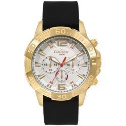 Relógio Masculino Condor Analógico COVD54BE 2K Borracha b73d356f6d