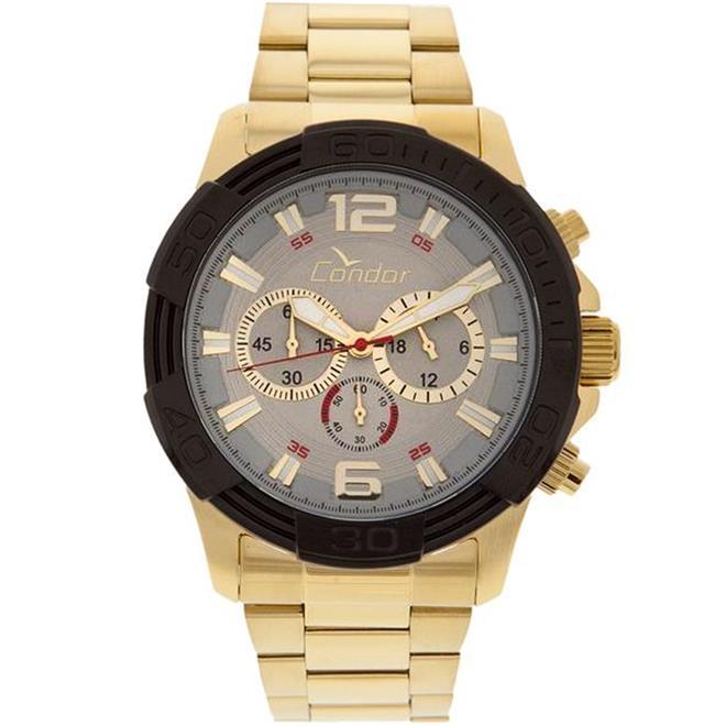 b7d73240937 Relógio Masculino Condor Civic Analógico COVD54AA 4K Dourado