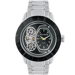 3a0424de727 Relógio Masculino Technos Lendas do Podium - Hélio Castroneves Analógico  2039AN 1P em aço