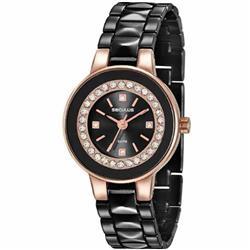 23d73d8a586 Relógio Feminino Seculus 23605LPSVIB2 Aço Negro