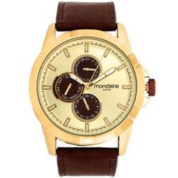 dbf6c3cadcf Relógio Masculino Mondaine 99226GPMVDH1 Couro