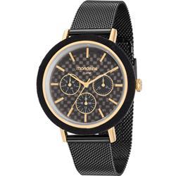 ecc1ba6b38a Relógio Feminino Mondaine 89011LPMVHE1 Aço Negro