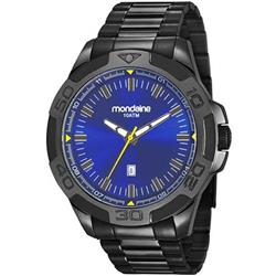 1bd1c23b618 Relógio Masculino Mondaine 83413GPMVPS2 Aço Negro
