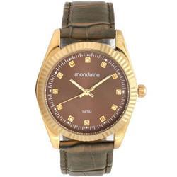 7932e1a8ee1 Relógio Feminino Mondaine 99175LPMVDR1 Couro