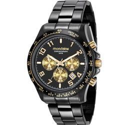 33a23a3fc0e Relógio Feminino Mondaine 78754LPMVPS2 Aço Negro