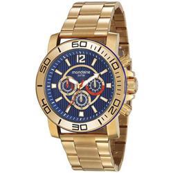 100663a700c Relógio Masculino Mondaine 99264GPMVDS2 Dourado