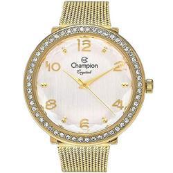 c3099d7a3b4 Relógio Feminino Champion Crystal Analógico CN27376H Dourado
