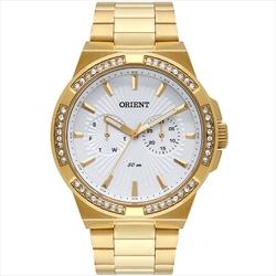 6f95c7604 Relógio Feminino Orient Swarovski FGSSM065 S1KX Dourado