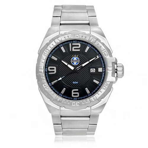 Relógio Masculino Technos do Grêmio GRE2315AB 3P Aço  e834f62d19c66