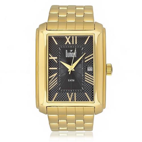 Relógio Masculino Dumont Berlim Analógico DU2115BR 4P Dourado 39db0533fc