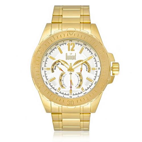 81b46fc5e11 Relógio Masculino Dumont Analógico DU6P29ABT 4K Dourado