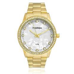 Relógio Feminino Mondaine Analógico 76483LPMVDE1 Dourado