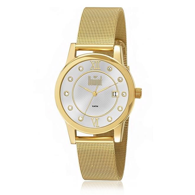Relógio Feminino Dumont Analógico DU2035LOC 4D Dourado 2d757fa63d