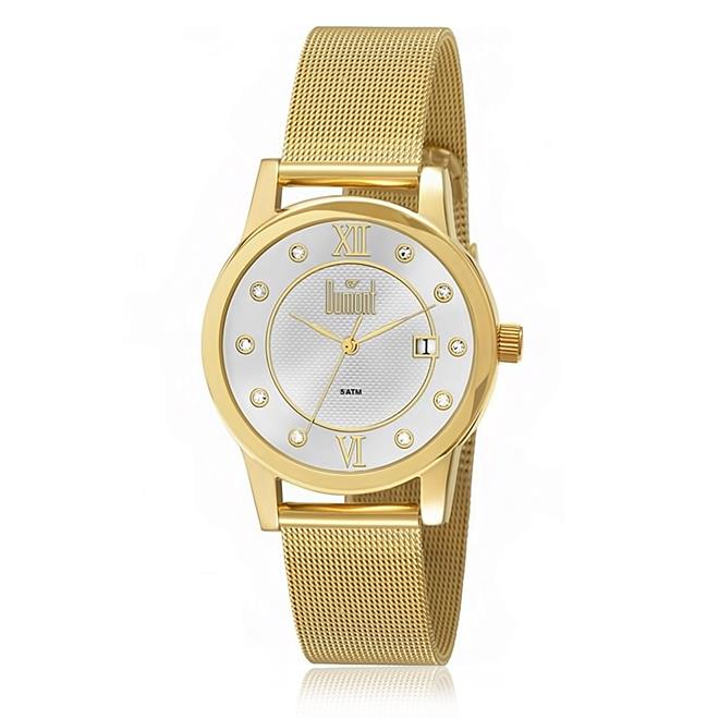 9317c6821 Relógio Feminino Dumont Analógico DU2035LOC 4D Dourado. Ampliar