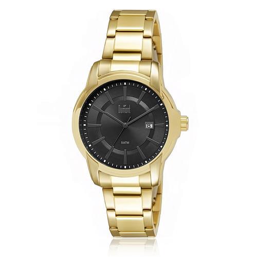 Relógio Masculino Dumont Analógico DU2315AS 4P Dourado cffd27bccf