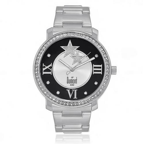 Relógio Feminino Dumont Analógico SX25027P Aço