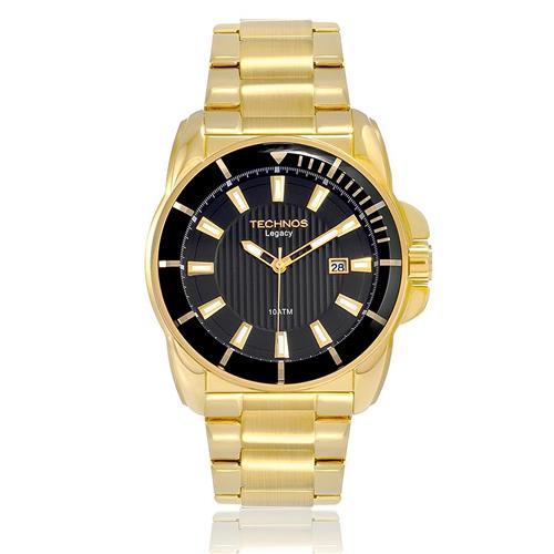10915e50261bd Relógio Masculino Technos Classic Legacy Analógico 2315AAP 4P Dourado