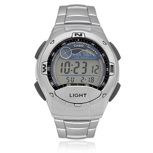 e8b43a95fb2 Relógio Masculino Casio Digital W753D1AVDF Aço