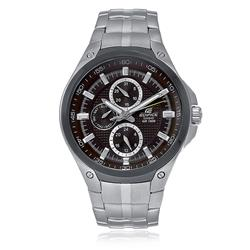Relógio Masculino Casio Edifice Analógico EF-326SD-5AVUDF Fundo Marrom