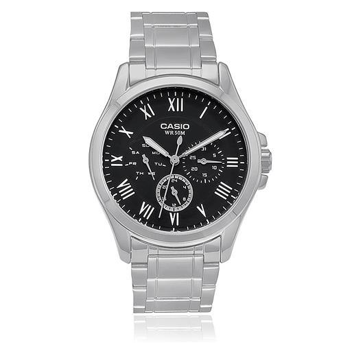 1e7757954e8 Relógio Masculino Casio Analógico MTP-E301ZD-1BVDF Fundo Preto