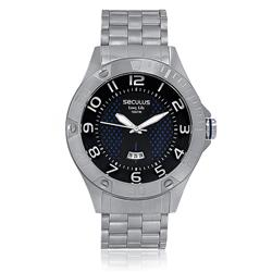 Relógio Masculino Seculus Long Life Analógico 28474G0SVNA2 Aço
