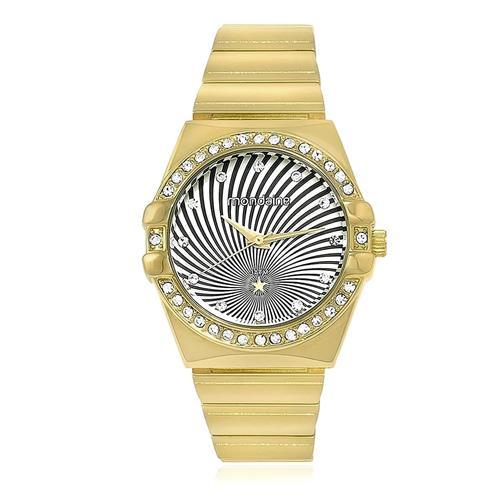 Relógio Feminino Mondaine Analógico 94585LPMNDM3 Dourado